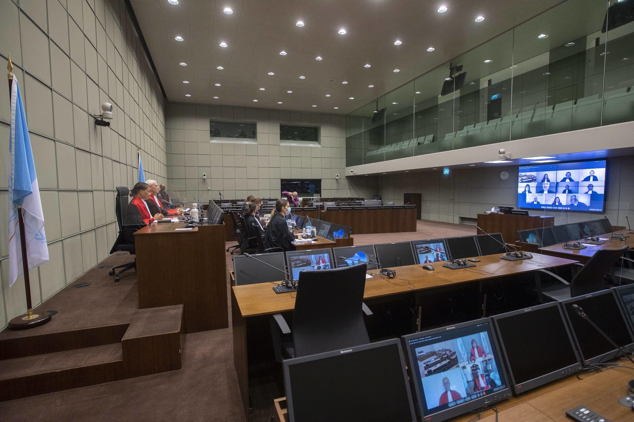 من داخل المحكمة الدولية الخاصة بلبنان