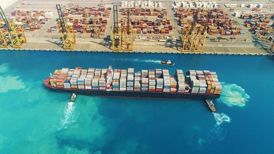 ميناء الملك عبدالله في السعودية