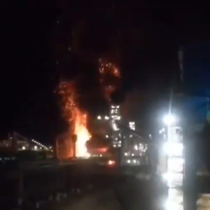Fire breaks out at steel factory in Iran's Kerman province: Fars
