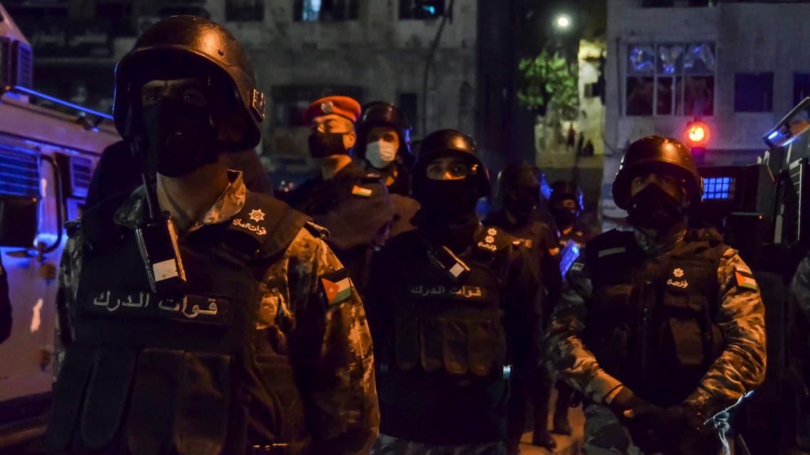 قوات الدرك الأردنية (أرشيفية - رويترز)
