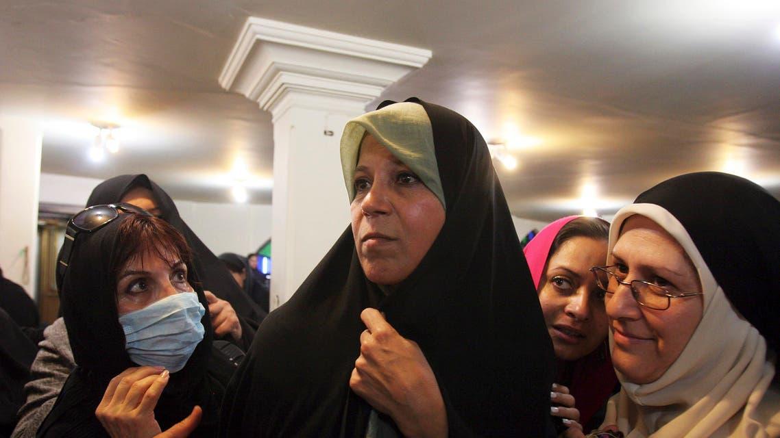 فائزة رفسنجاني (رويترز)