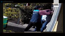 Amazon delivery driver arrested after video shows her beating 67-year-old woman