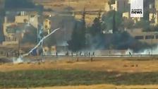 Protesters fire guns near Jordanian capital Amman, police respond with tear gas