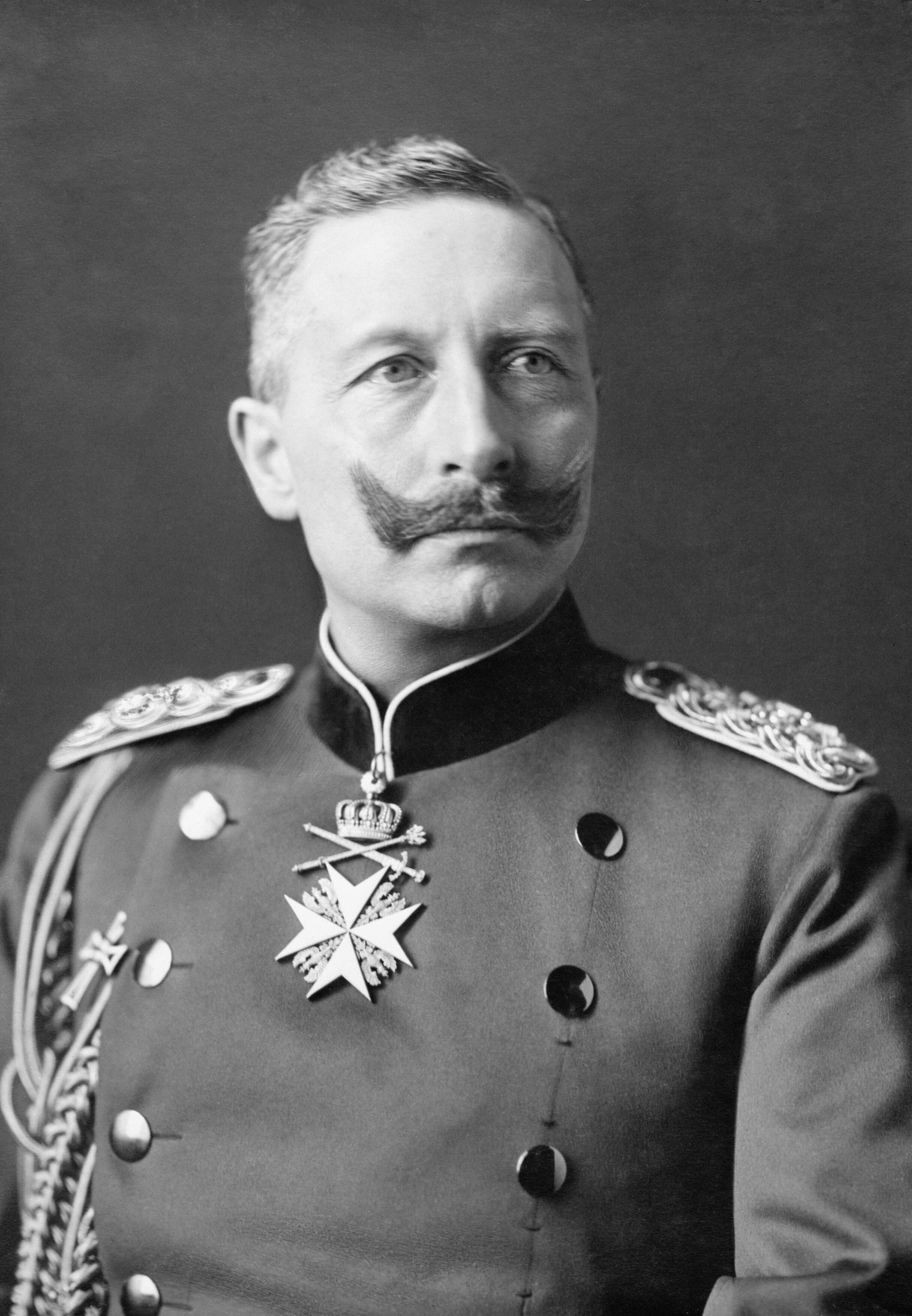 صورة للإمبراطور الألماني فيلهلم الثاني
