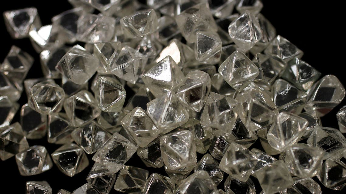 Uncut diamonds from southern Africa and Canada are seen at De Beers headquarters in London, Britain, January 17, 2011. (File Photo: Reuters)