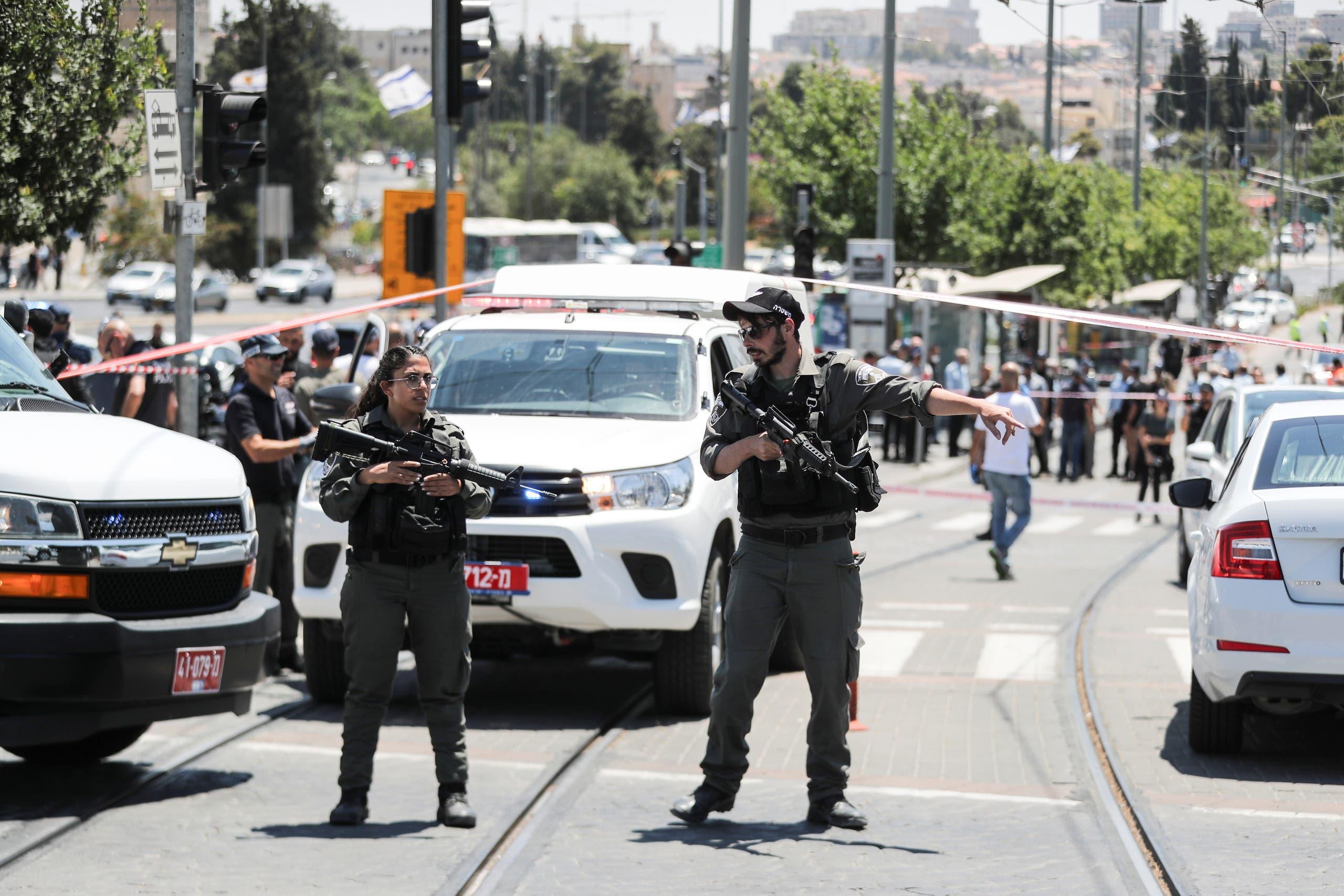 شرطة إسرائيلية في القدس (رويترز)