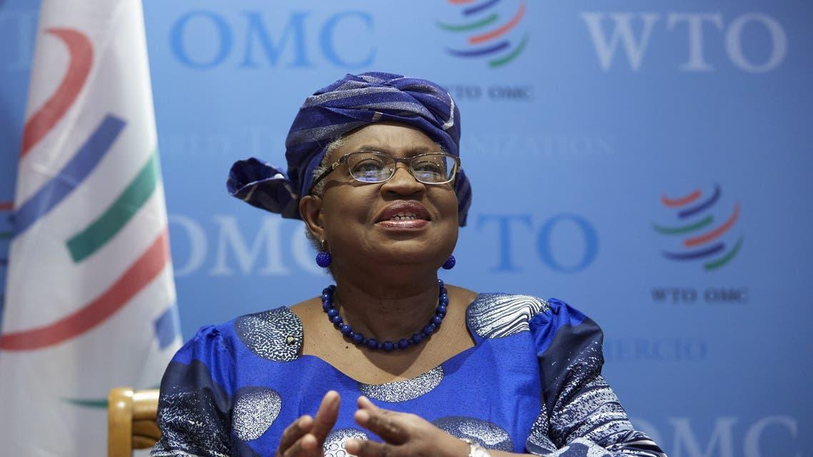 الرئيسة الجديدة لمنظمة التجارة العالمية (رويترز)