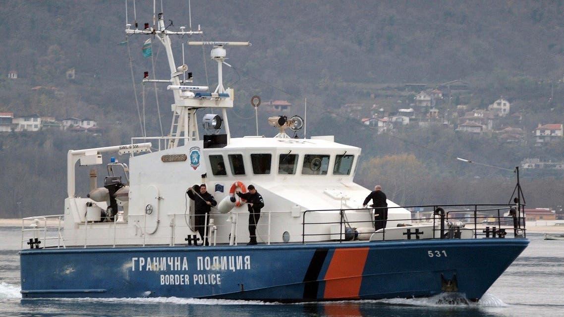 A Bulgarian border police ship is seen near the Black Sea port of Varna. (File photo: AFP)