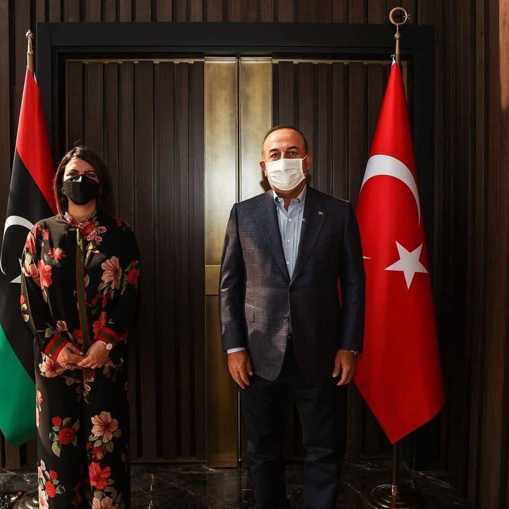 إطلالة وزيرة خارجية ليبيا في تركيا تثير جدلاً