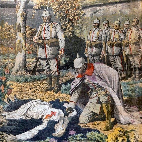 هكذا أثار إعدام ممرضة موجة غضب بالحرب العالمية