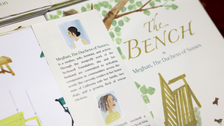 Duchess of Sussex Meghan releases debut children's book 'The Bench'