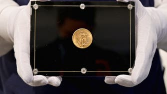 US gold coin sells for record $19.5 mln at Sotheby's auction