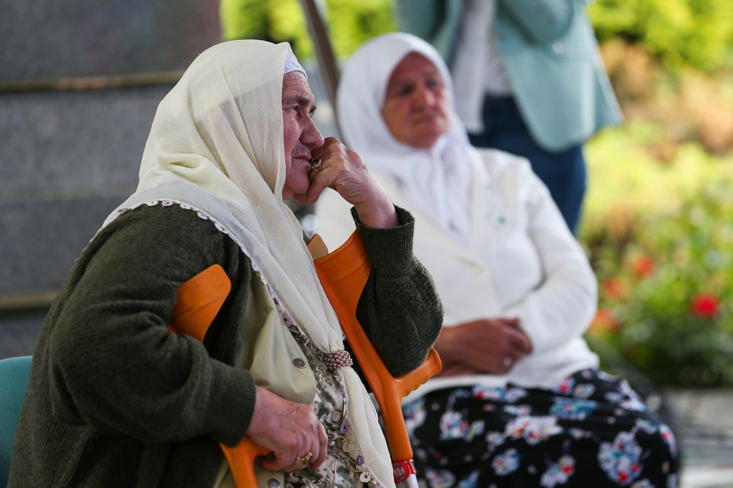 Women die Having survived the Srebrenica massacre, hear the verdict of Mladic