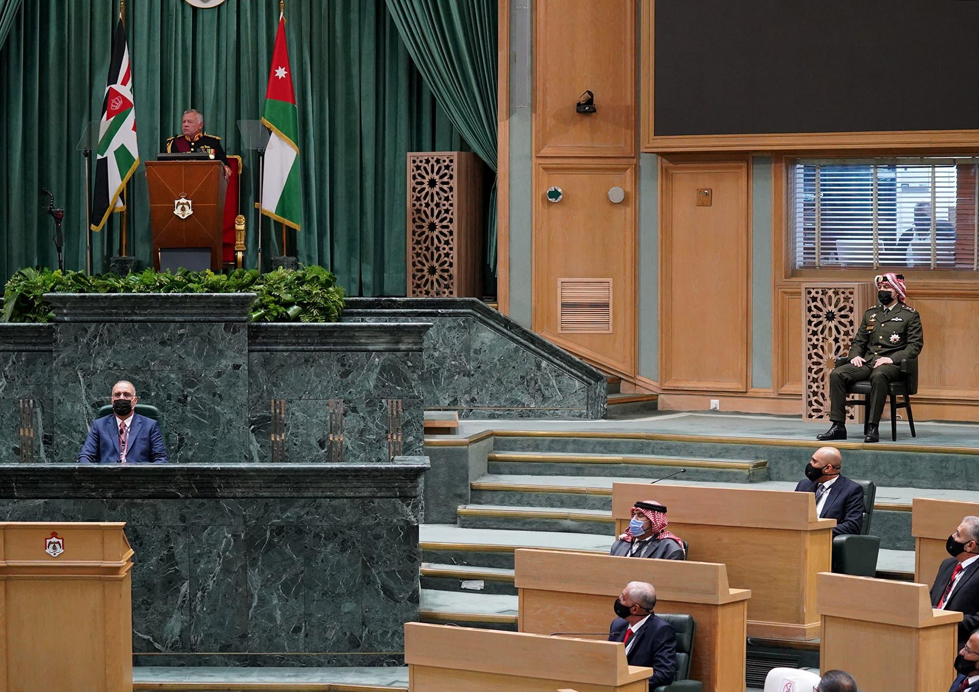 King Abdullah II calls for dialogue in the interests of Jordan