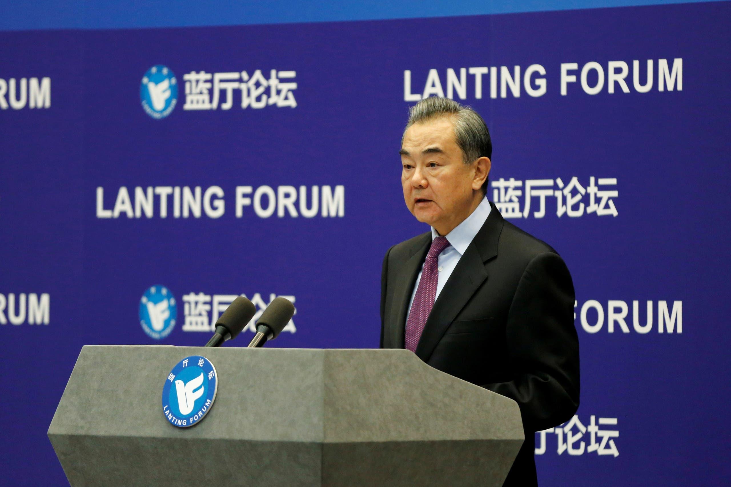 وزير الخارجية الصيني وانغ يي (أرشيفية)