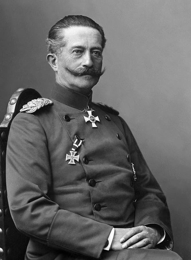 صورة للحاكم الألماني ببلجيكا فون بيسيغ