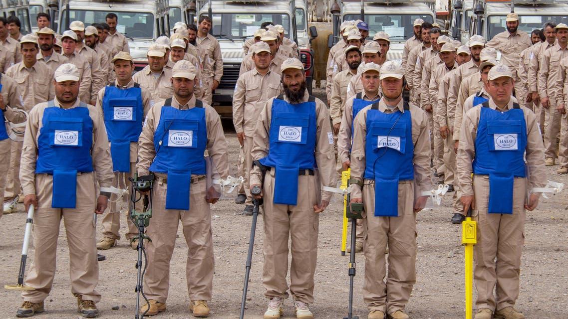 قوات تفكيك الألغام في أفغانستان