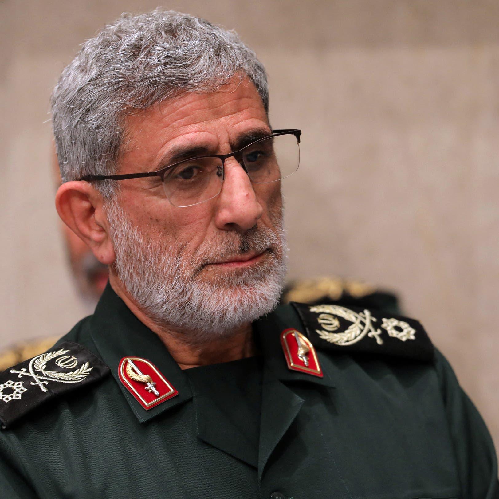 """سبوتنيك: قاآني زار العراق سراً للتنسيق بين الفصائل و""""الحرس"""""""