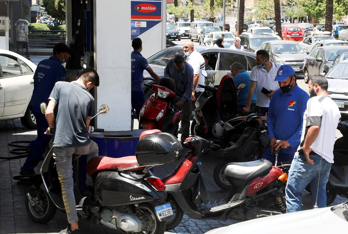 أزمة وقود في لبنان