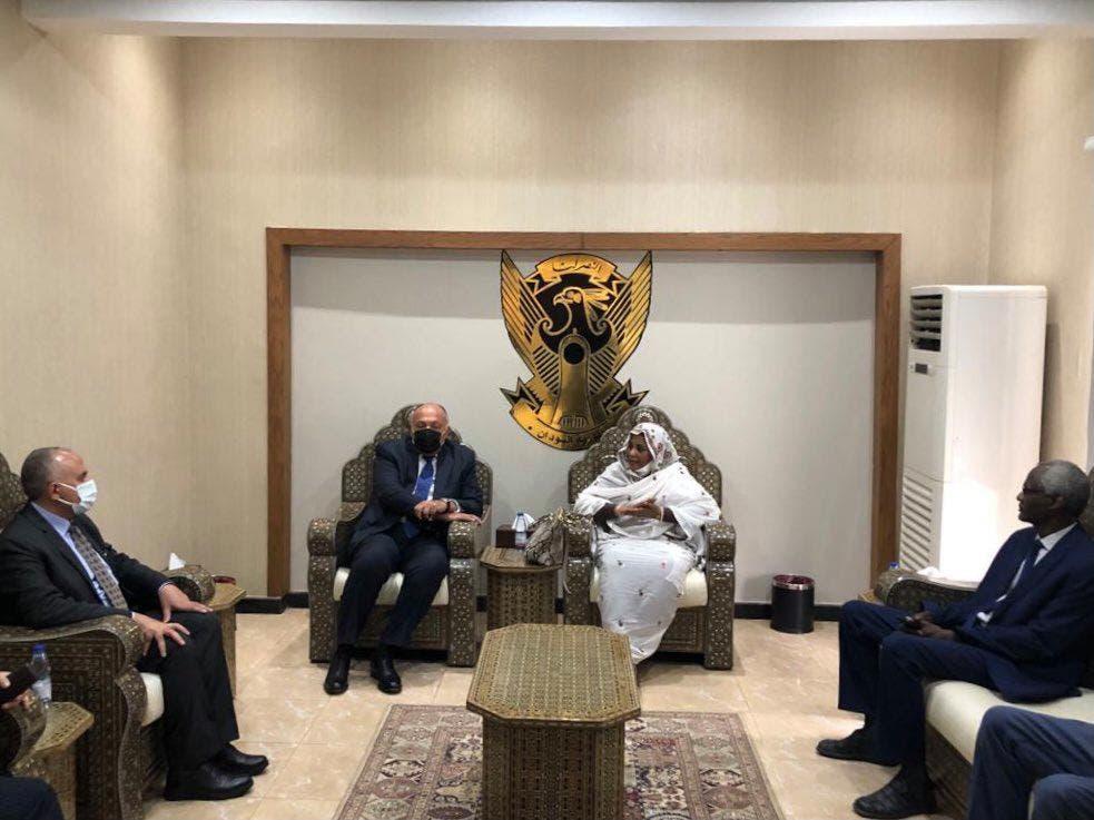 من زيارة الوفد الوزاري المصري للخرطوم