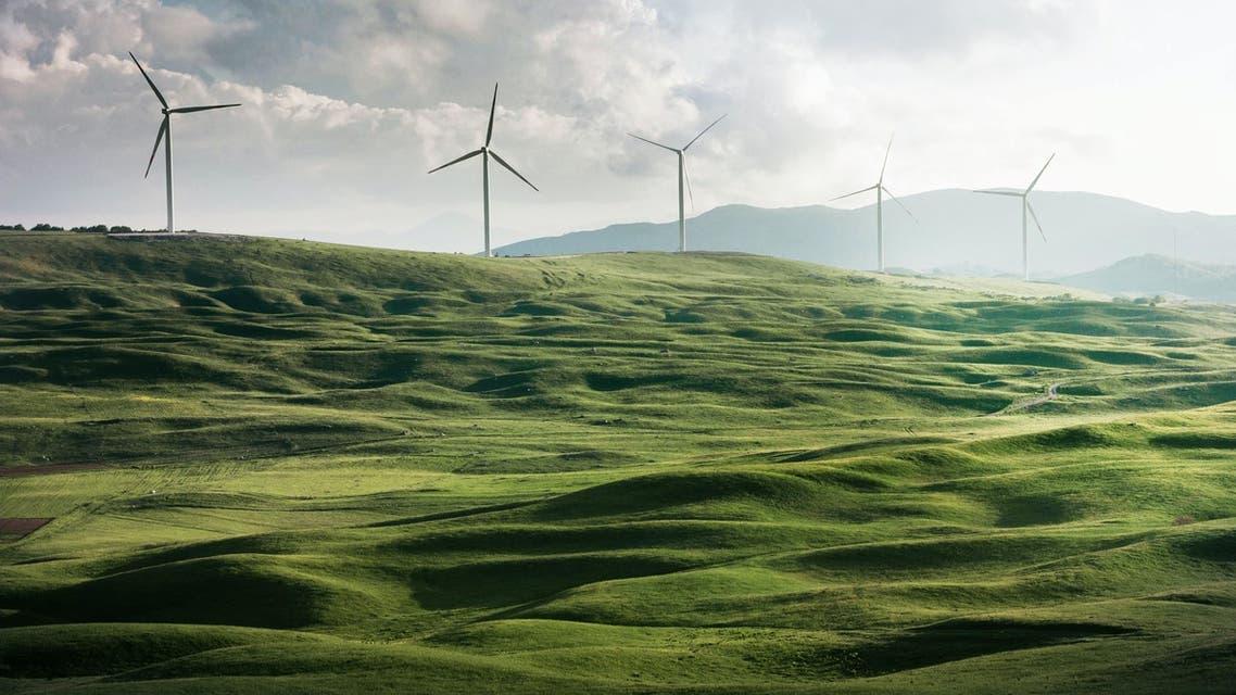 Valley of windmills in Niksic, Montenegro. (Unsplash, Appolinary Kalashnikova)