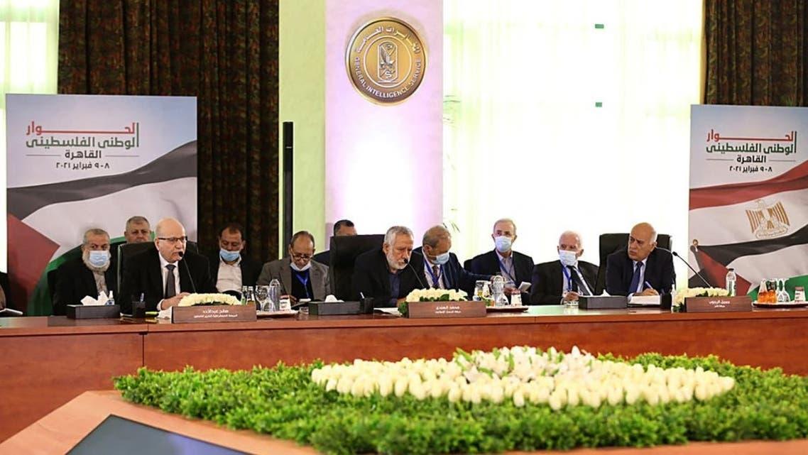 من اجتماع القاهرة يوم 8 فبراير
