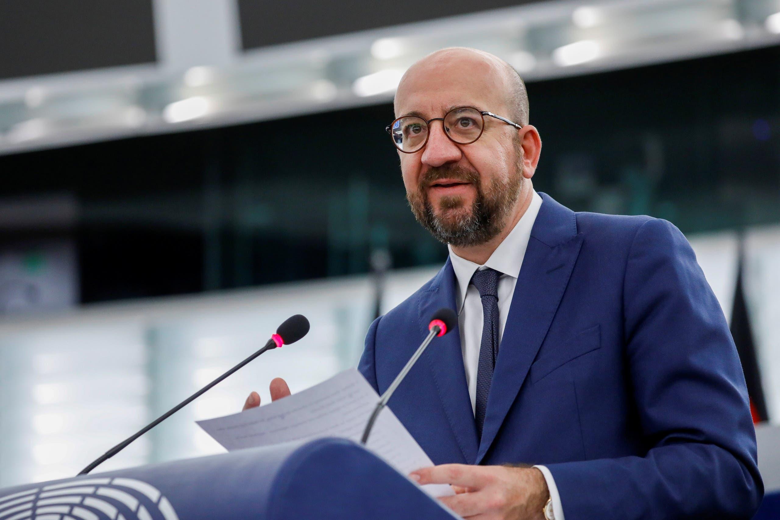 شارل ميشال رئيس المجلس الأوروبي (رويترز)