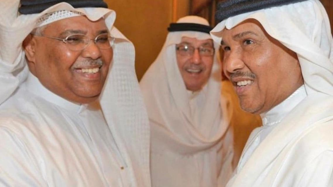 طلال باغر مع محمد عبده