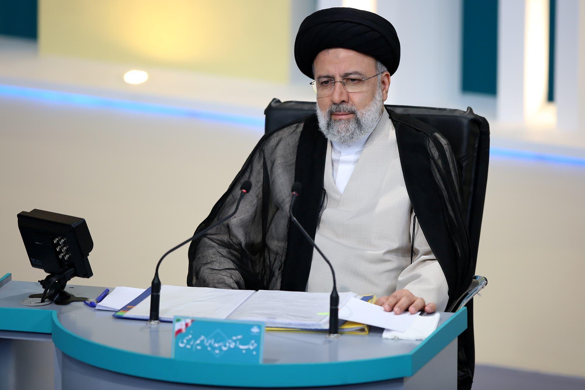 المرشح الرئاسي إبراهيم رئيسي (رويترز)