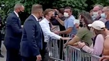 فيديو جديد لصافع ماكرون.. قبل ساعات من الصدمة!
