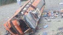 Pakistan bus crash leaves at least 19 people dead, 50 injured