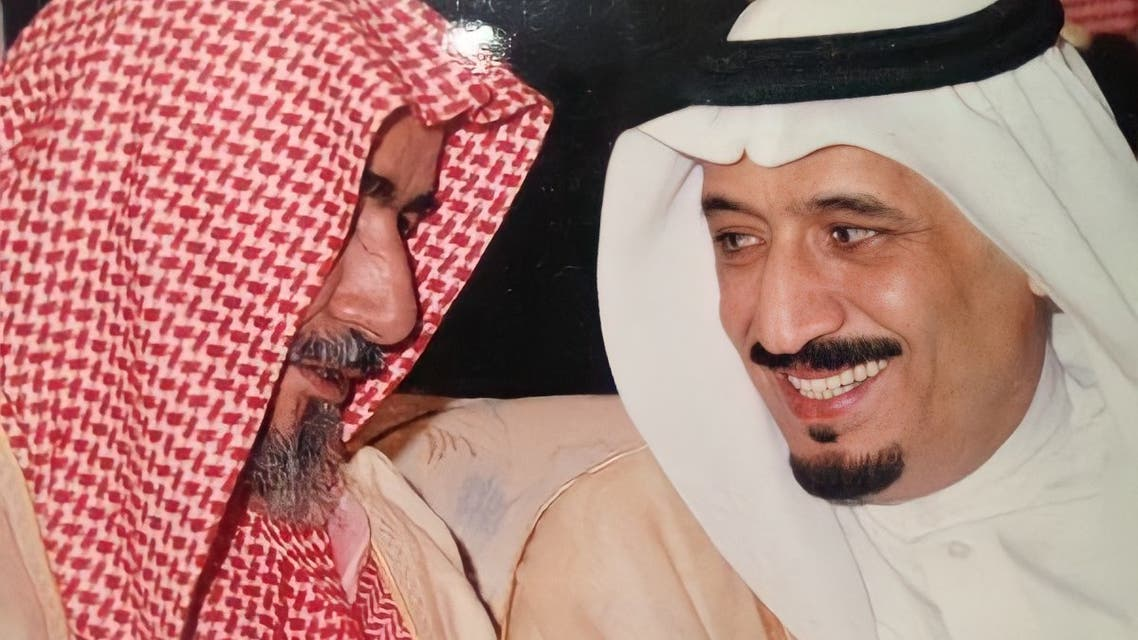 صورة ارشيفية تجمع الملك سلمان مع الشتري