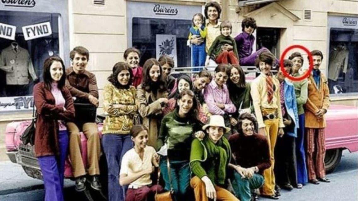 أسامة بن لادن في رحلة عائلية