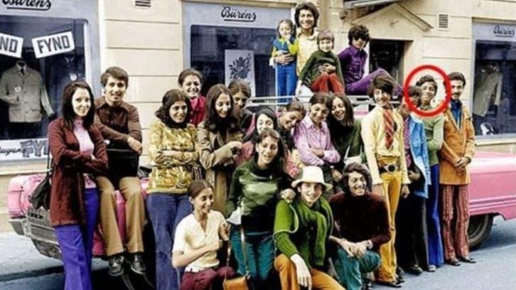 تصویری از اسامه بن لادن در دوره جوانی