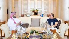 السیسی : با شاهزاده محمد بن سلمان اتفاق نظر داریم
