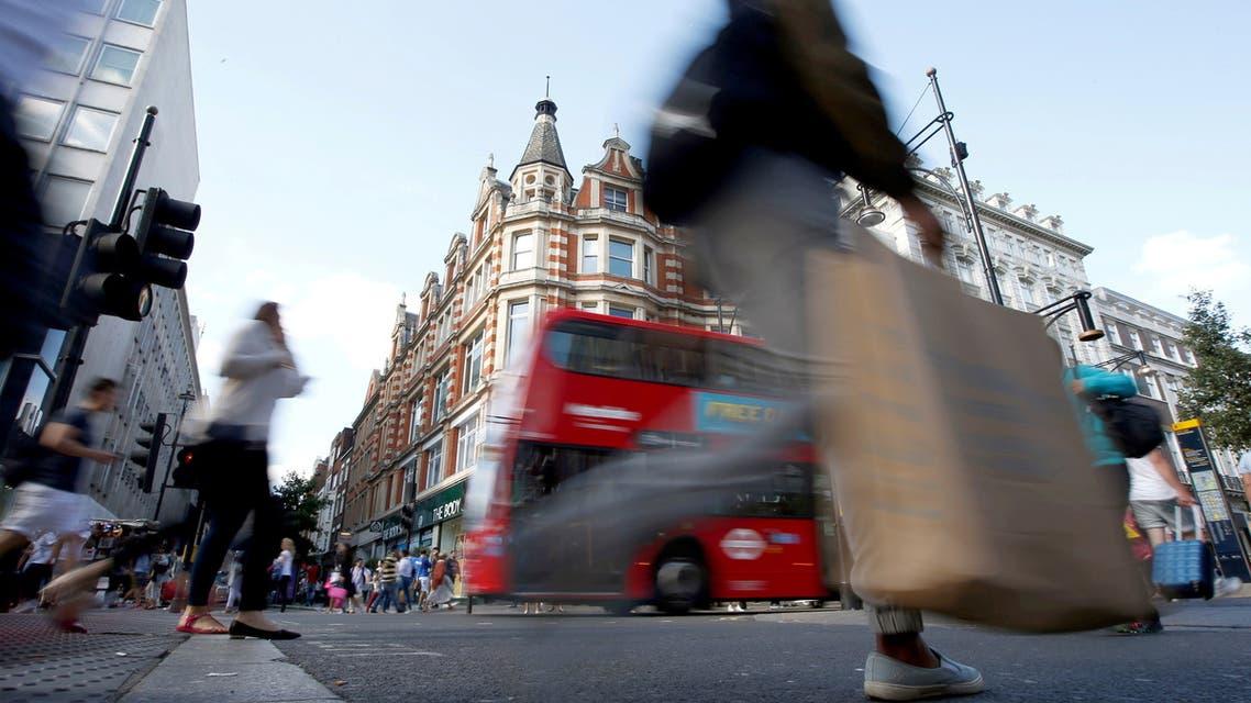 شارع أوكسفورد الشهير في لندن
