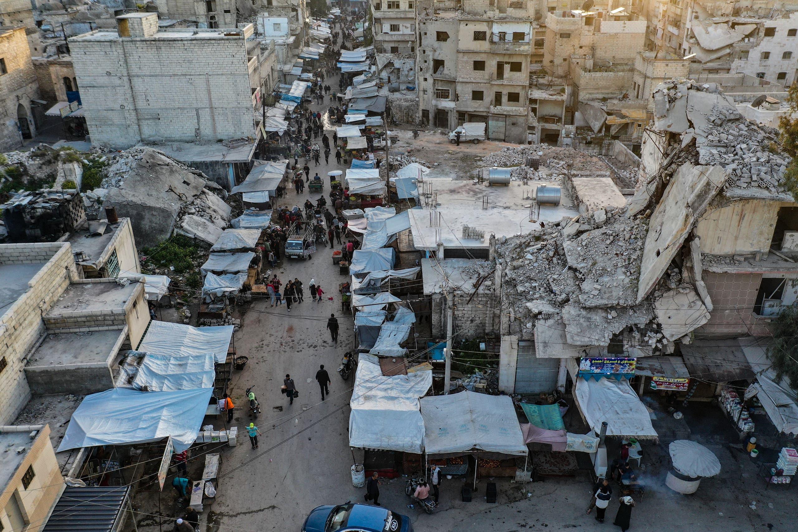 من إدلب (أرشيفية- فرانس برس)
