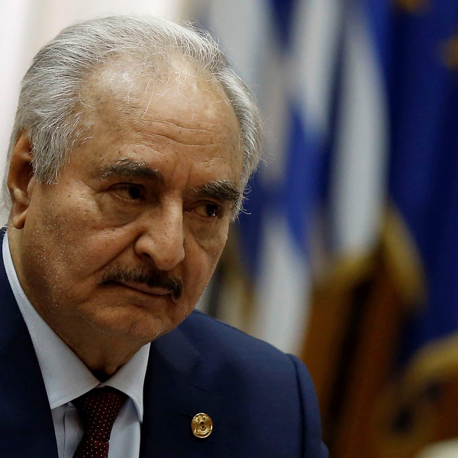 حفتر ورئاسة ليبيا.. هل يسقط قانون الانتخاب حلمه؟