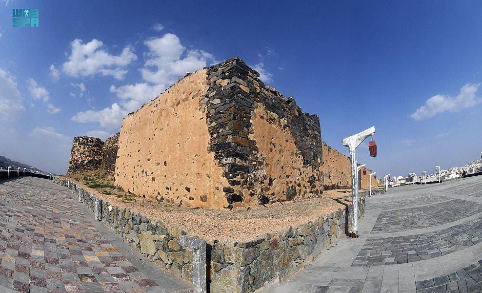 قلعة شمسان في أبها