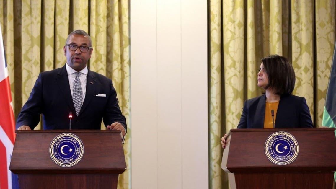 وزير الخارجية المغربي ونظيرته الليبية