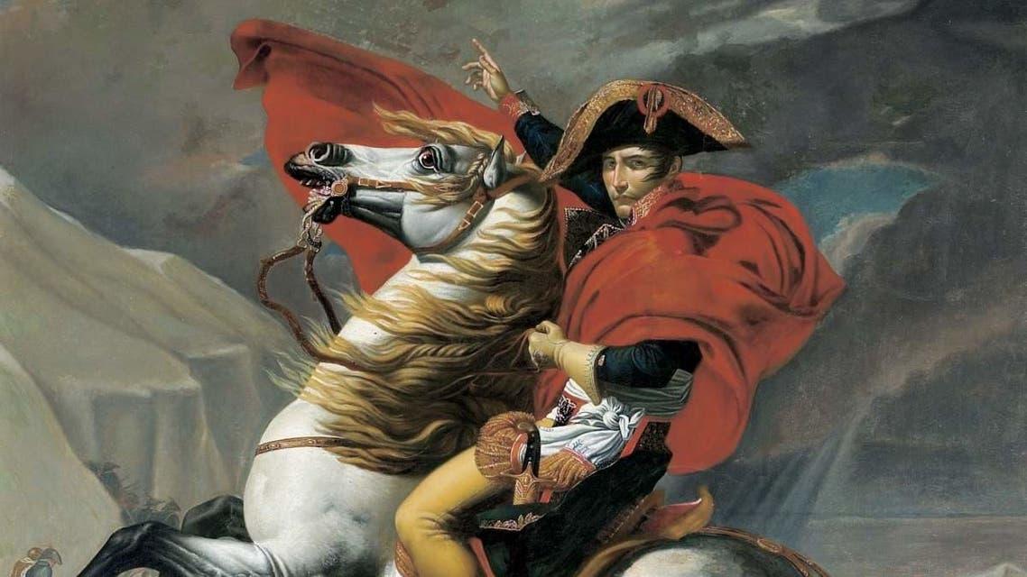 لوحة للجنرال الفرنسي نابليون بونابرت