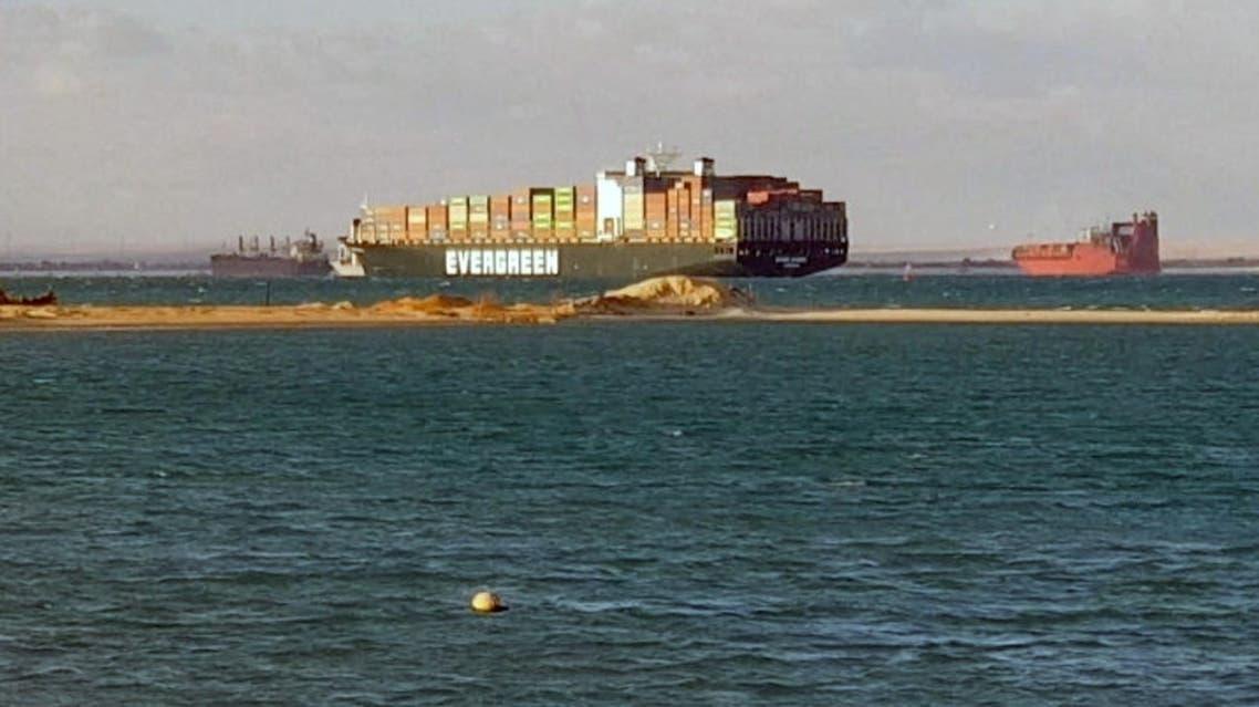 سفينة إيفرغيفن (رويترز)