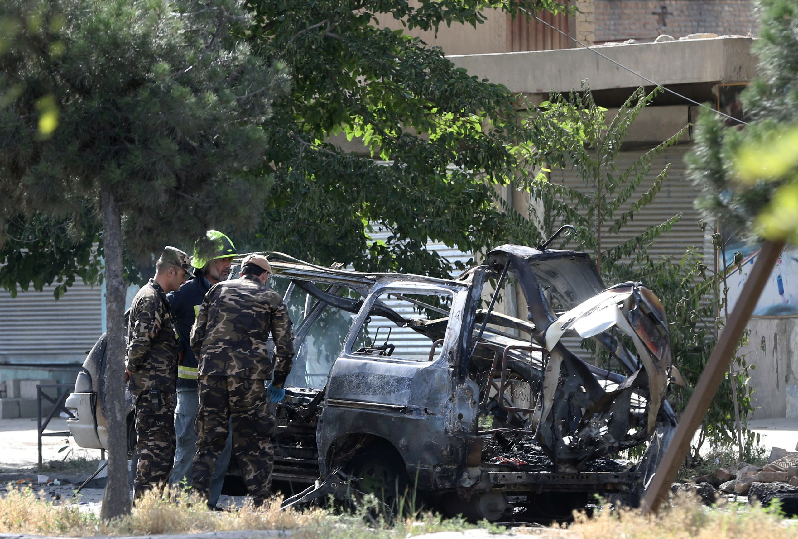 تفجير وقع في كابول في يونيو الماضي