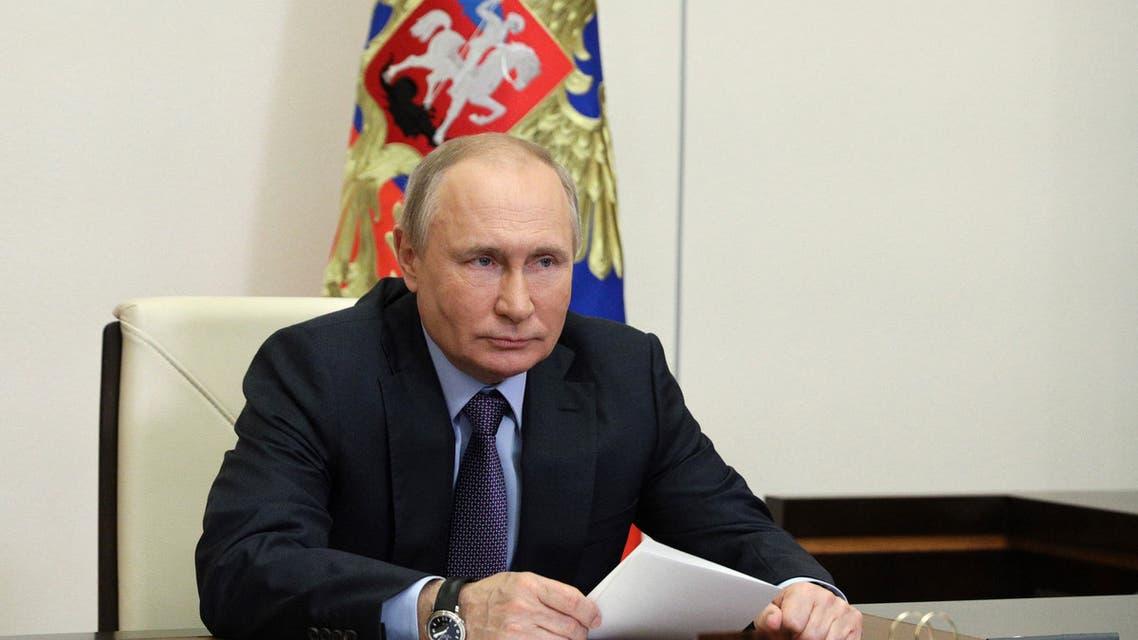 الرئيس الروسي فلاديمير بوتين (أرشيفية- فرانس برس)