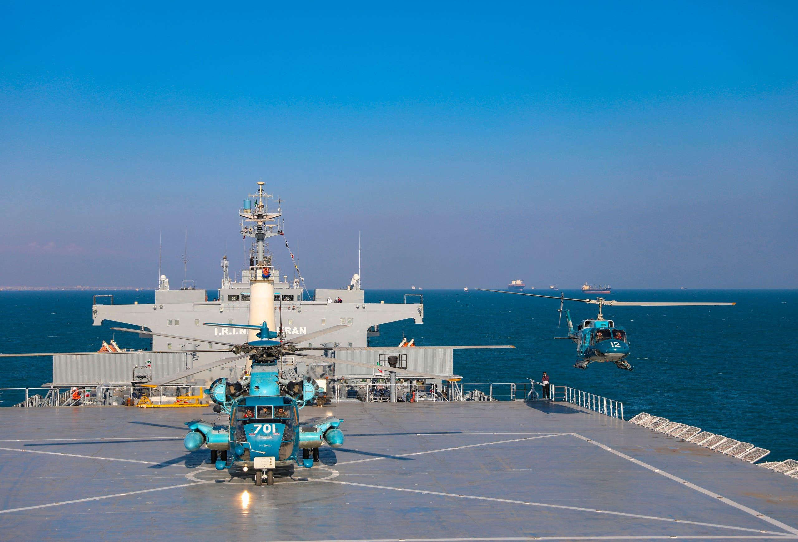 سفينة مكران الإيرانية (أرشيفية- أسوشييتد برس)