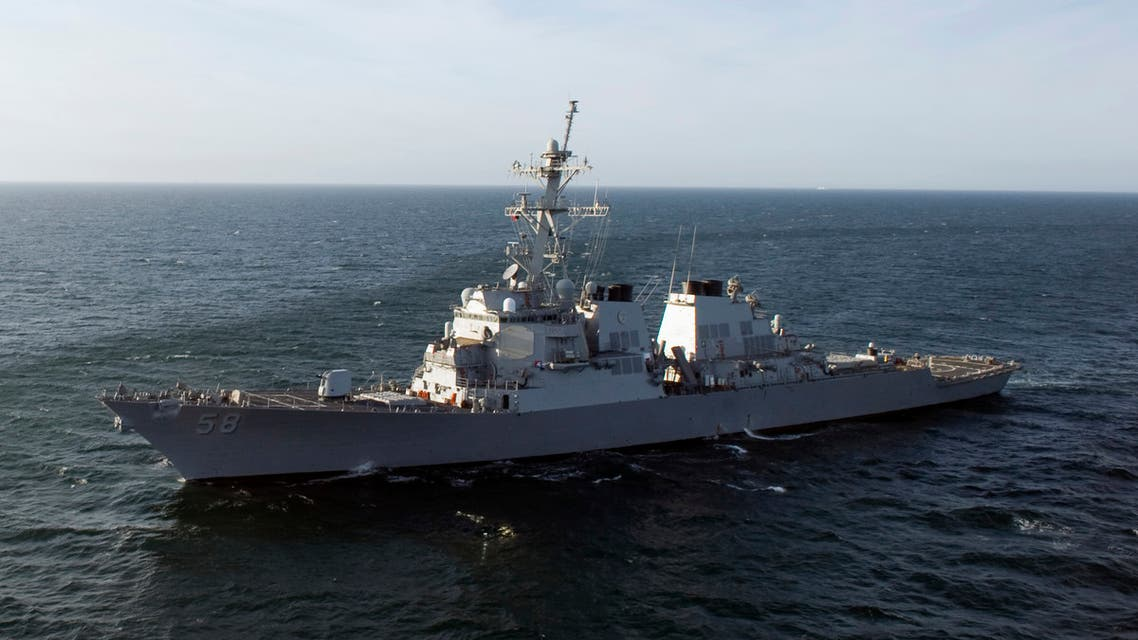 Guided missile destroyer USS Laboon (DDG 58) is under way in the Atlantic Ocean in this March 12, 2012 file photo. (Reuters)