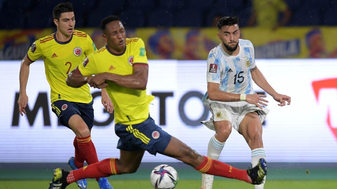 كولومبيا الأرجنتين