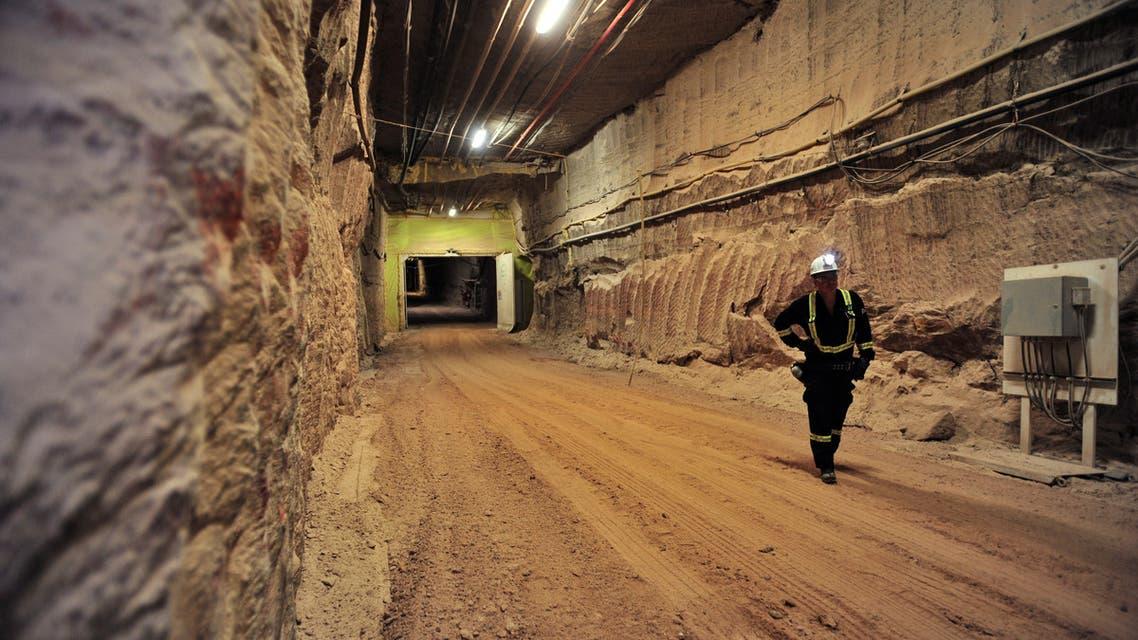 An entry to the tunnels is seen at Nutrien's Cory potash mine near Saskatoon, Saskatchewan, Canada August 12, 2019. (File Photo: Reuters)