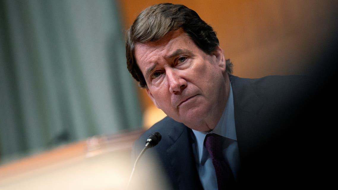Senator Bill Hagerty (R-TN) speaks during a Senate Appropriations Subcommittee on Commerce, Justice, Science, and Related Agencies hearing at the Dirksen Senate Office building in Washington, D.C., U.S., June 9, 2021. Stefani Reynolds/Pool via REUTERS