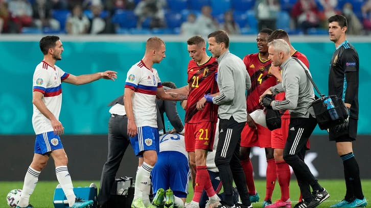 استبعاد كاستاني من قائمة بلجيكا بعد تعرضه إلى الإصابة